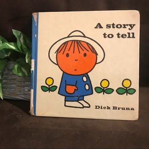 "Rare Unique Children's Book ""A Story to Tell"""